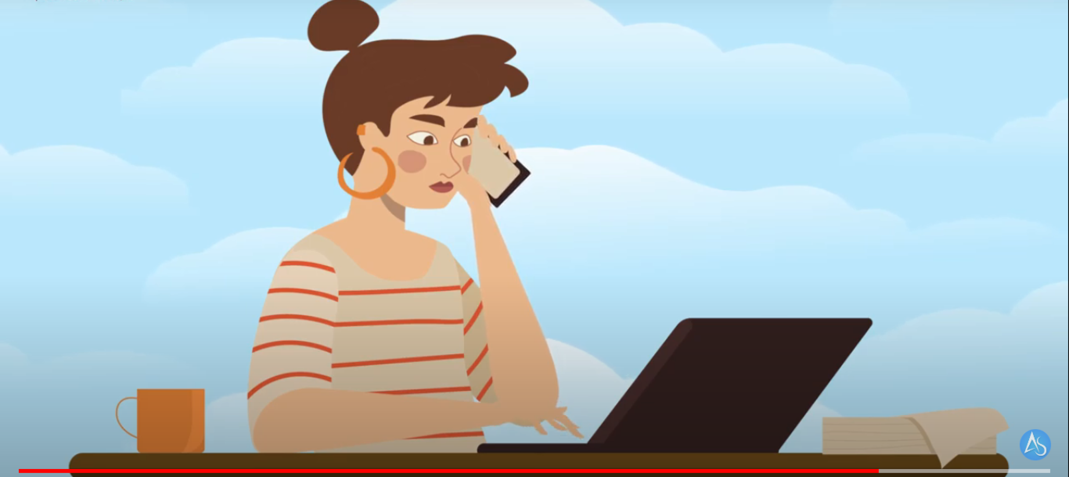 סרטון תדמית לעסק בעלות נינמלית ללא צורך בצילום עם קריינות.